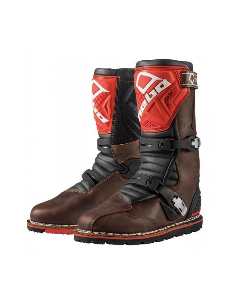 BOTAS HEBO TRIAL TECHNICAL 2.0 LEATHER MARRON
